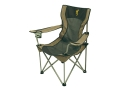 Product detail of Browning Grizzly Camp Chair Steel Frame Nylon Seat and Back Khaki and Coal