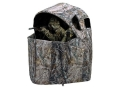"Ameristep Two-Man Chair Ground Blind 56"" x 21"" x 57"" Polyester Realtree AP Camo"