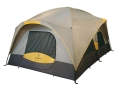 "Browning Black Canyon 6 Man Cabin Tent 120"" x 180"" x 87"" Polyester Gray and Gold"