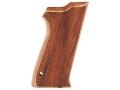 Hogue Fancy Hardwood Grips S&W 5900 Checkered Pau Ferro