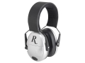 Remington RY 2000 Youth Electronic Ear Muffs Silver and Black