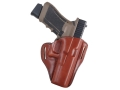 Bianchi 57 Remedy Outside the Waistband Holster Right Hand Glock 17, 22, 31 Leather Tan