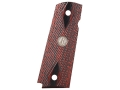 Remington Grip 1911 Government, Commander Rosewood Laminate