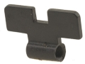 "Smith & Wesson Rear Sight Blade .196"" Black K, L, N-Frame"