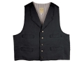 WahMaker Trapper Vest Canvas Black Large