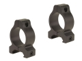 "Leupold 1"" Rifleman Vertical Split Rings Weaver-Style Medium Matte"