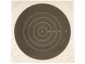 NRA Official High Power Rifle Targets Repair Center MR-63C 300 Yard Slow Fire Paper Package of 100