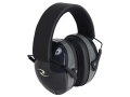 Radians Terminator Folding Earmuffs (NRR 29 dB) Black