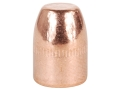 HSM Custom Bullets 38 Special (357 Diameter) 125 Grain Plated Flat Nose Box of 500