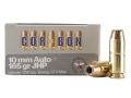 Cor-Bon Self-Defense Ammunition 10mm Auto 165 Grain Jacketed Hollow Point Box of 20