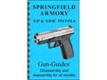 "Gun Guides Takedown Guide ""Springfield XD & XDM Pistols"" Book"