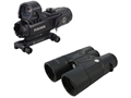 Leupold Mark 4 Tactical HAMR Rifle Scope 4x 24mm 1/10 Mil Adjustments Illuminated CMR2 Reticle Matte with Integral Picatinny-Style Mount, 3.5 MOA DeltaPoint Red Dot Sight and BX-2 Tactical Binocular