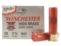 Winchester Super-X High Brass Ammunition 28 Gauge 2-3/4&quot; 1 oz #6 Shot Box of 25