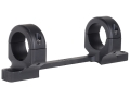 "DNZ Products Game Reaper 1-Piece Scope Base with 1"" Integral Rings Howa 1500, Weatherby Vangaurd Short Action Matte Low"
