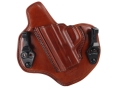Bianchi Allusion Series 135 Suppression Tuckable Inside the Waistband Holster Left Hand Smith & Wesson M&P 9mm, 40 S&W Leather Tan
