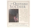 "Product detail of ""The Quotable Soldier"" Book Edited by Lamar Underwood"