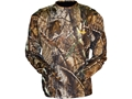 Gamehide Men's Elimitick Tech T-shirt Long Sleeve Polyester Realtree AP Camo XL 46-48