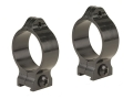 Talley 30mm Fixed Scope Rings Matte Medium
