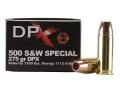 Cor-Bon Hunter Ammunition 500 S&W Special 275 Grain Barnes DPX XPB Hollow Point Lead-Free Box of 12