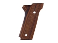 Hogue Fancy Hardwood Grips S&amp;W 645 Checkered Cocobolo