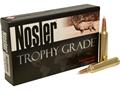 Nosler Trophy Grade Ammunition 28 Nosler 160 Grain AccuBond Spitzer Box of 20