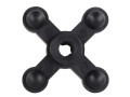 Product detail of Bowjax Big Jax Guide Bow Vibration Dampener Rubber Black