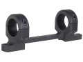 DNZ Products Game Reaper 1-Piece Scope Base with 1&quot; Integral Rings Howa 1500, Weatherby Vangaurd Short Action Matte Medium