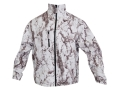Natural Gear Men's Windproof Fleece Jacket Polyester Natural Gear Snow Camo Medium 38-40