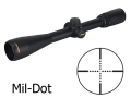 Nikon Buckmasters Rifle Scope 4.5-14x 40mm Side Focus Mil-Dot Reticle Matte