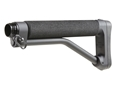 ACE Skeleton Buttstock 9.9&quot; Overall Length AR-15, LR-308 Aluminum Black