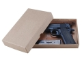 Cylinder &amp; Slide Reproduction Gun Storage Box 1911 9&quot; x 6&quot; x 1-1/2&quot; Paper Covered Chip Board