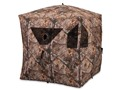 Ameristep Brickhouse Ground Blind 75&quot; x 75&quot; x 67&quot; Polyester Realtree Xtra Camo