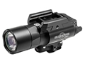 Surefire X400 Ultra Weaponlight LED with Red Laser with 2 CR123A Batteries Aluminum Black