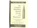 Loadbooks USA &quot;225 Winchester&quot; Reloading Manual