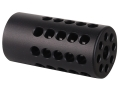 Tactical Solutions Compensator for Pac-Lite Barrels Ruger Mark I, Mark II, Mark III, 22/45 Aluminum Matte Black