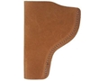 Bianchi 6 Inside the Waistband Holster Right Hand HK USP 40, 45 Suede Leather Natural
