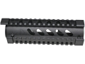 Product detail of Mako 2-Piece Handguard Quad Rail AR-15 Carbine Aluminum Matte with Black Rail Covers