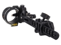 "T.R.U. Ball Axcel ArmourTech Vision HS Pro 5-Pin Bow Sight .019"" Pin Diameter Aluminum Black"
