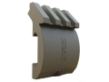 Gear Sector Low Profile Offset Picatinny Accessory Rail 3-Slot Aluminum Foliage Green