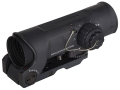ELCAN SpecterOS4x Tactical Rifle Scope 4x 32mm Illuminated 5.56 Ballistic Chevron Reticle Matte with ARMS Throw Lever Picatinny-Stye Mount