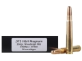Doubletap Ammunition 375 H&amp;H Magnum 350 Grain Woodleigh Full Metal Jacket Box of 20