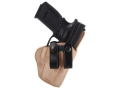 El Paso Saddlery Summer Cruiser Inside the Waistband Holster Right Hand Springfield XD 9/40 Service 4&quot; Leather Natural and Black