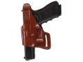 Product detail of Bianchi 75 Venom Belt Holster Left Hand Glock 17, 19, 22, 23, 26, 27, 34, 35 Leather Tan