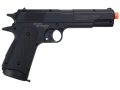 Stunt Studios Stunt 1911 Airsoft Pistol 6mm CO2 Semi-Automatic Polymer Black
