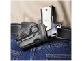 Galco Small Of Back Holster Right Hand Glock 26, 27, 33 Leather Black