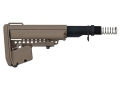 Vltor EMod Basic Mil-Spec Collapsible Buttstock Assembly AR-15 Carbine Synthetic Flat Dark Earth