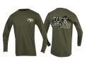 Duck Commander Hunt Eat Sleep T-Shirt Long Sleeve Cotton Moss 2XL 48-50