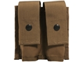 Military Surplus MOLLE II 40mm Double Pyrotechnic Pouch Grade 1 Coyote Tan