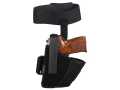 "BlackHawk Ankle Holster Left Hand Medium, Large Frame Semi-Automatic 3-1/4"" to 3-3/4"" Barrel Nylon Black"