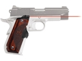 Product detail of Crimson Trace Master Series Laser Grips 1911 Government, Commander Round Heel Rosewood